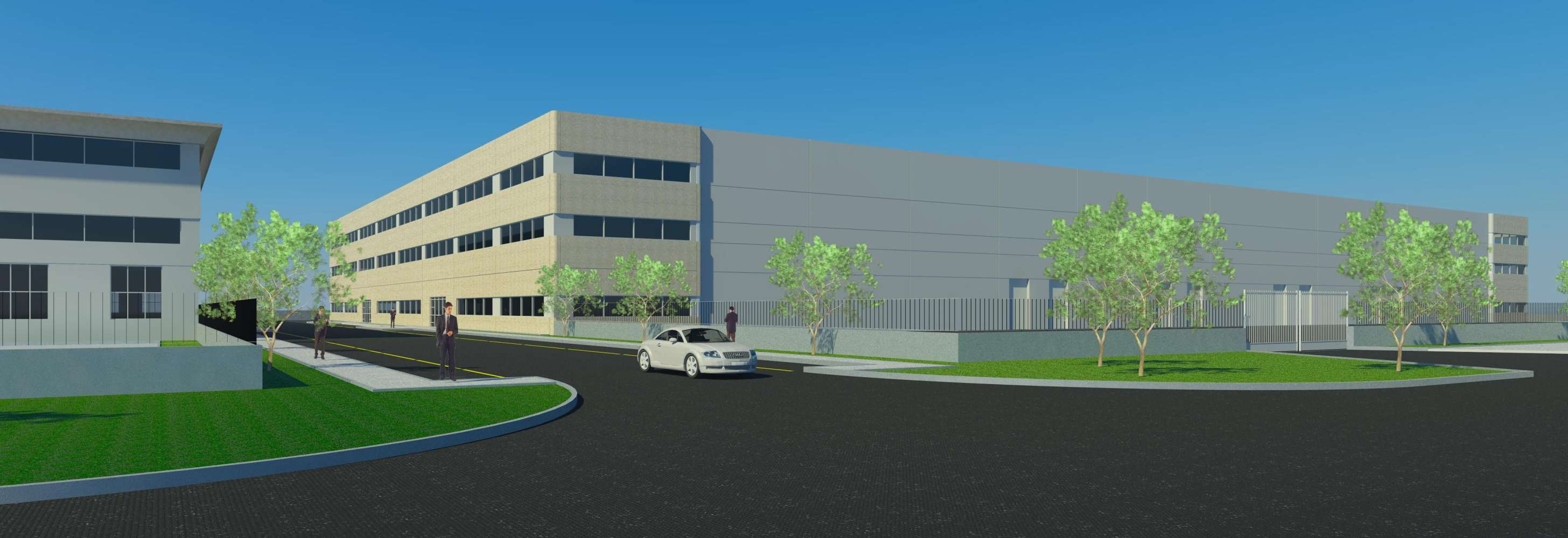 Magazzini industriali e logistici Pomezia, 00040 - Pomezia Logistics Center - 8907415