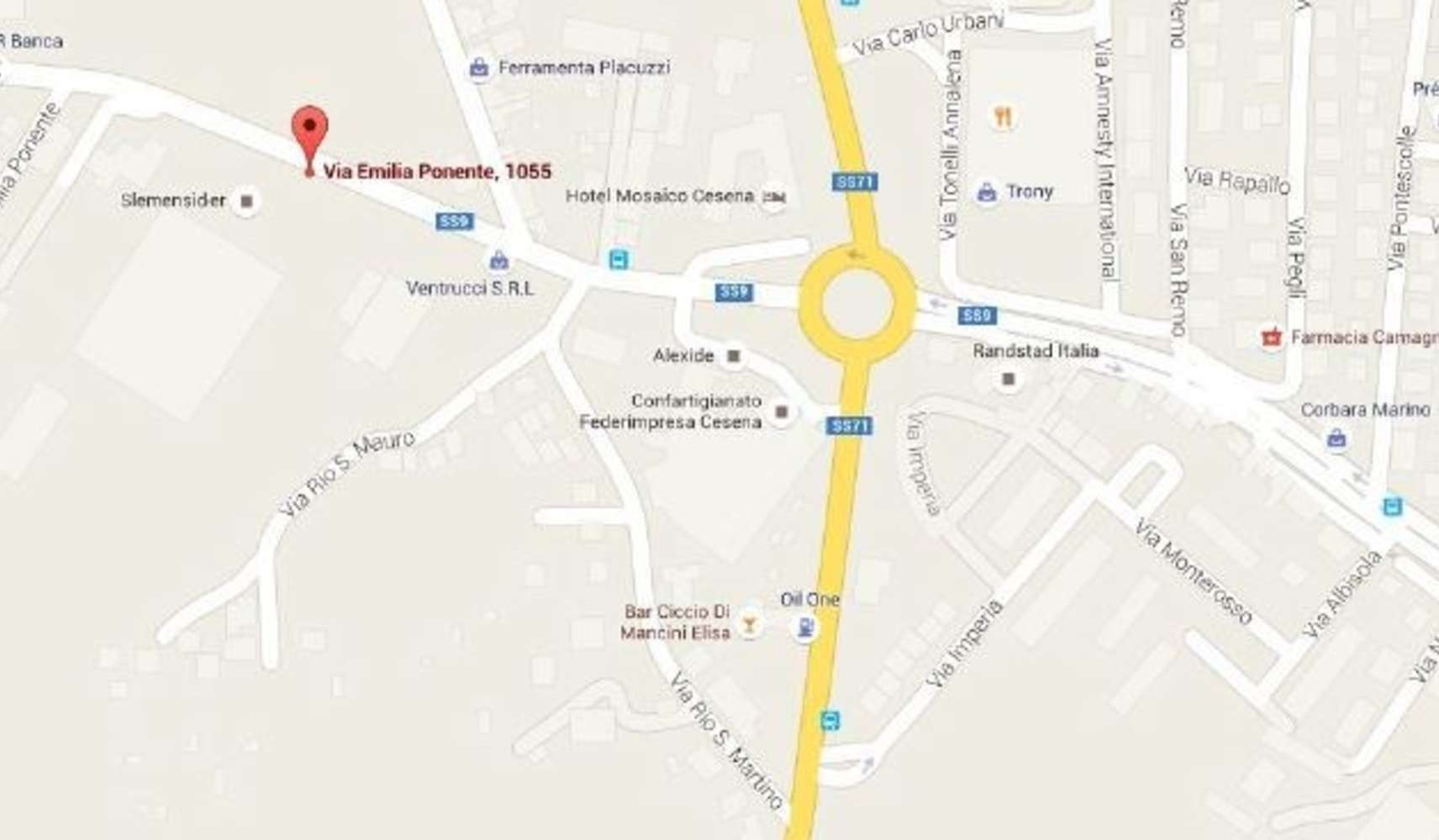 Magazzini industriali e logistici Cesena, 47522 - Cesena 1 - 8969472