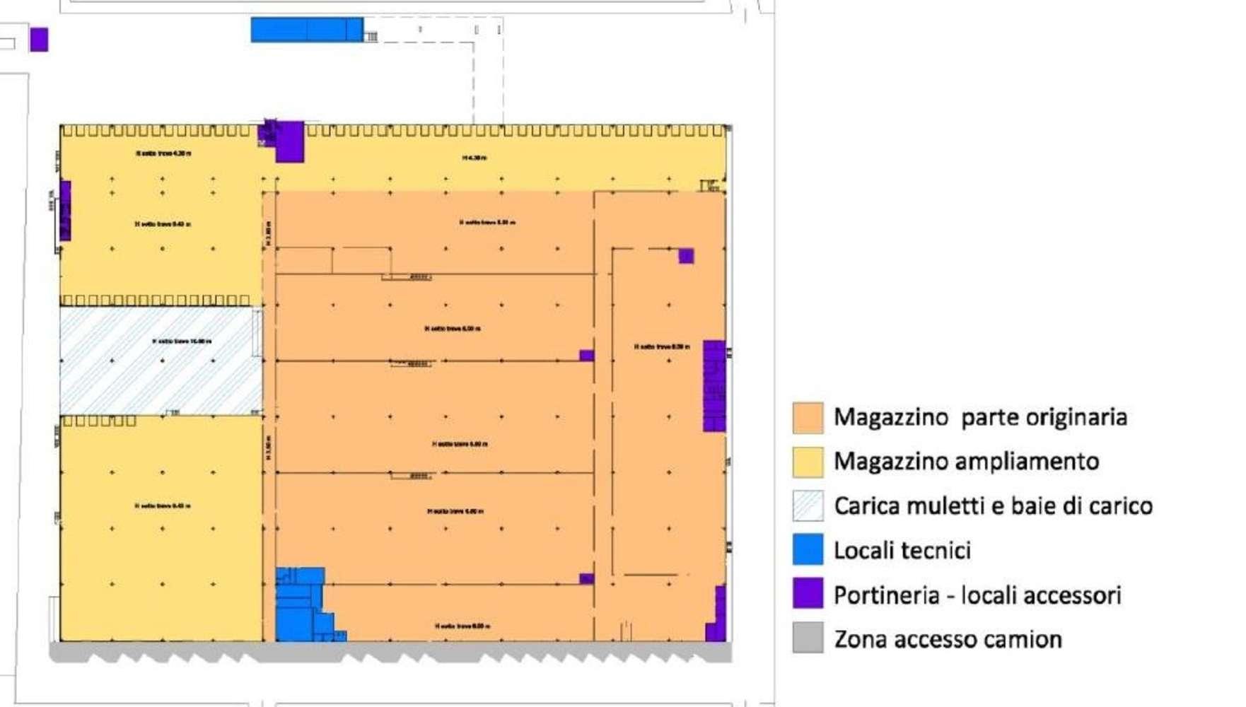 Magazzini industriali e logistici Arluno, 20010 - Arluno Warehouse - 9134652