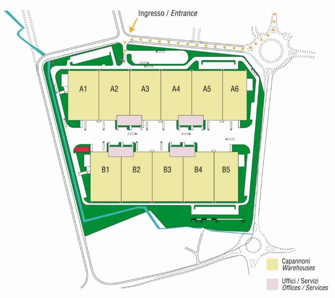 Magazzini industriali e logistici Biandrate (no), 28061 - Biandrate Logistics Park - 9210278