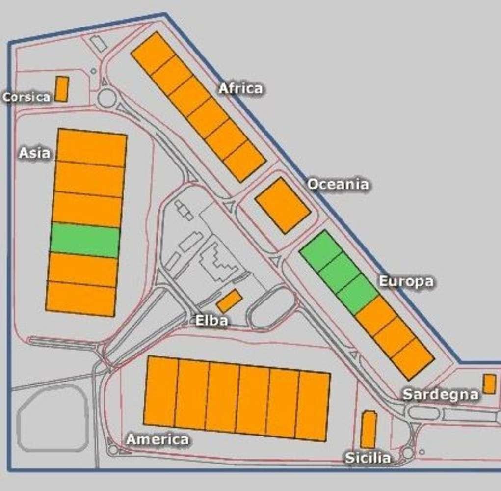 Magazzini industriali e logistici Lacchiarella, 20084 - Milano Logistic Centre - edificio America - 9210337