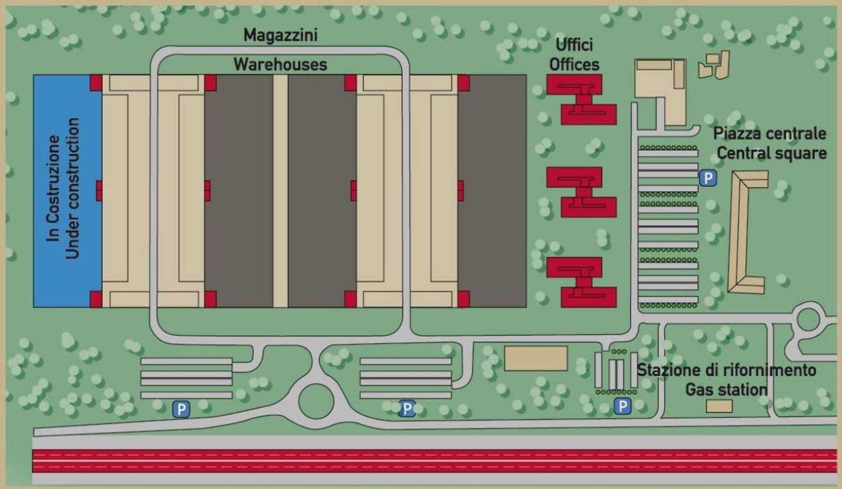 Magazzini industriali e logistici Lonate pozzolo (va), 21015 - Avioport Logistics Park - 9218104