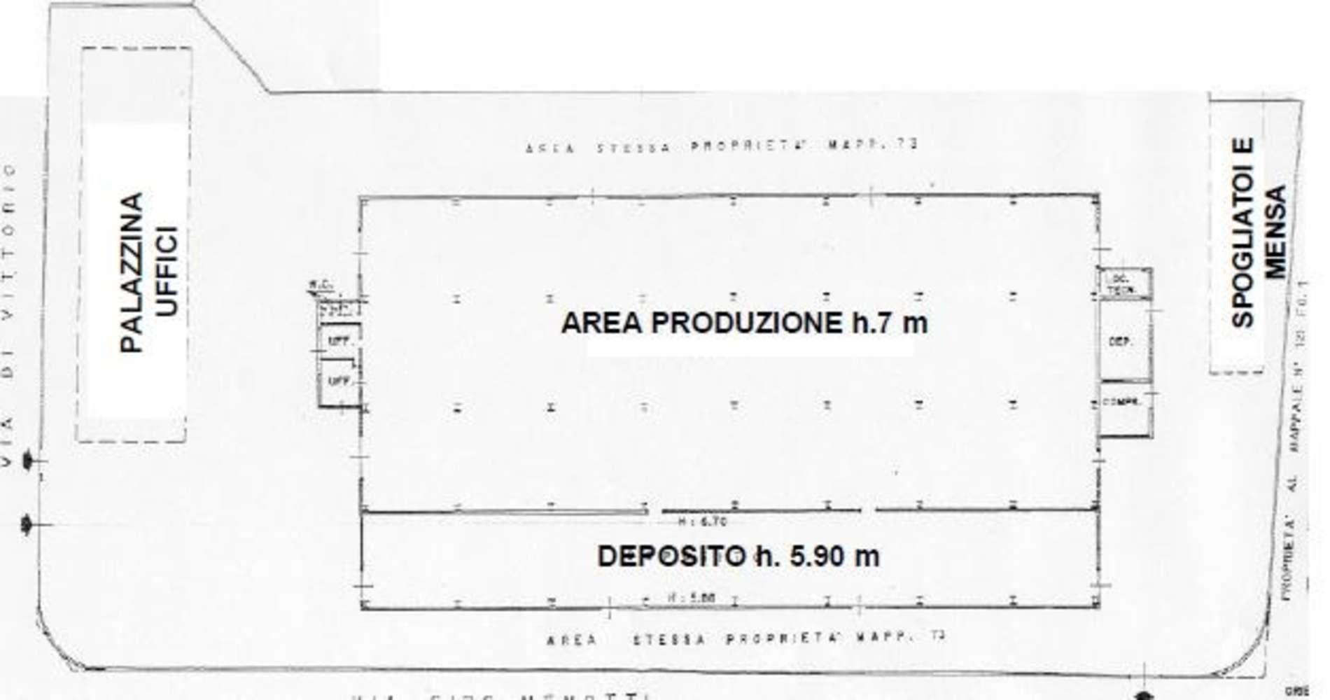 Magazzini industriali e logistici Pieve emanuele, 20090 - Pieve Emanuele - Via di Vittorio - 9491702