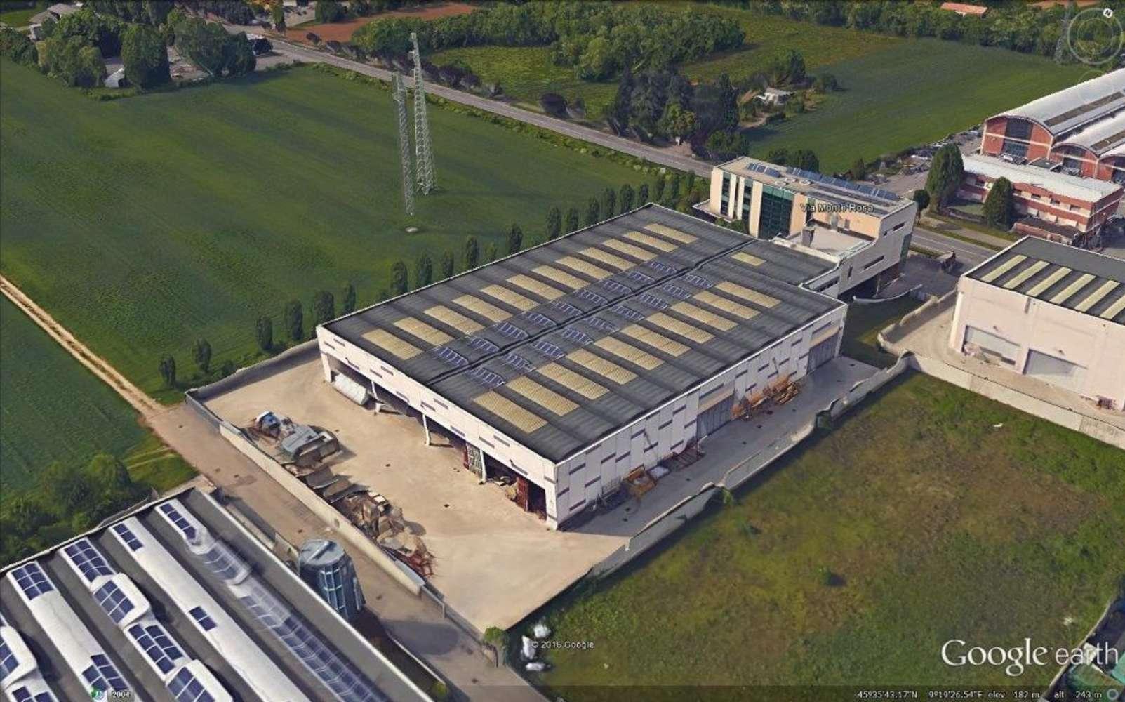 Magazzini industriali e logistici Concorezzo, 20863 - Concorezzo Monte Rosa - 9501547