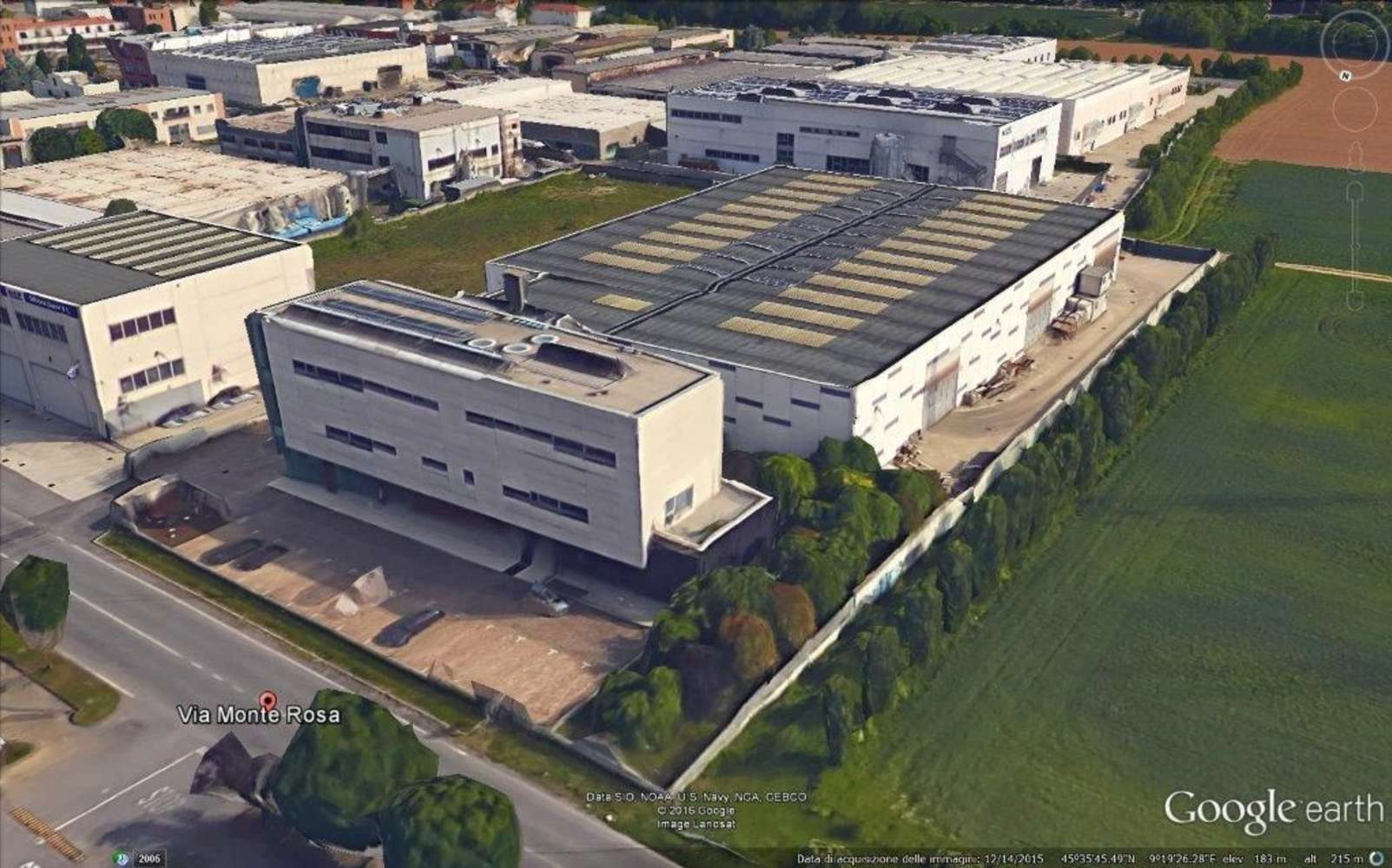 Magazzini industriali e logistici Concorezzo, 20863 - Concorezzo Monte Rosa - 9501548