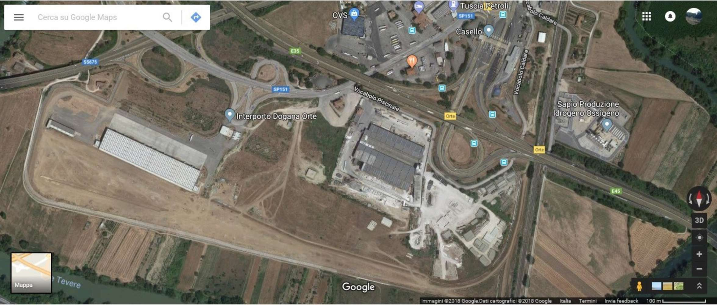 Magazzini industriali e logistici Orte, 01028 - Orte - 9569057