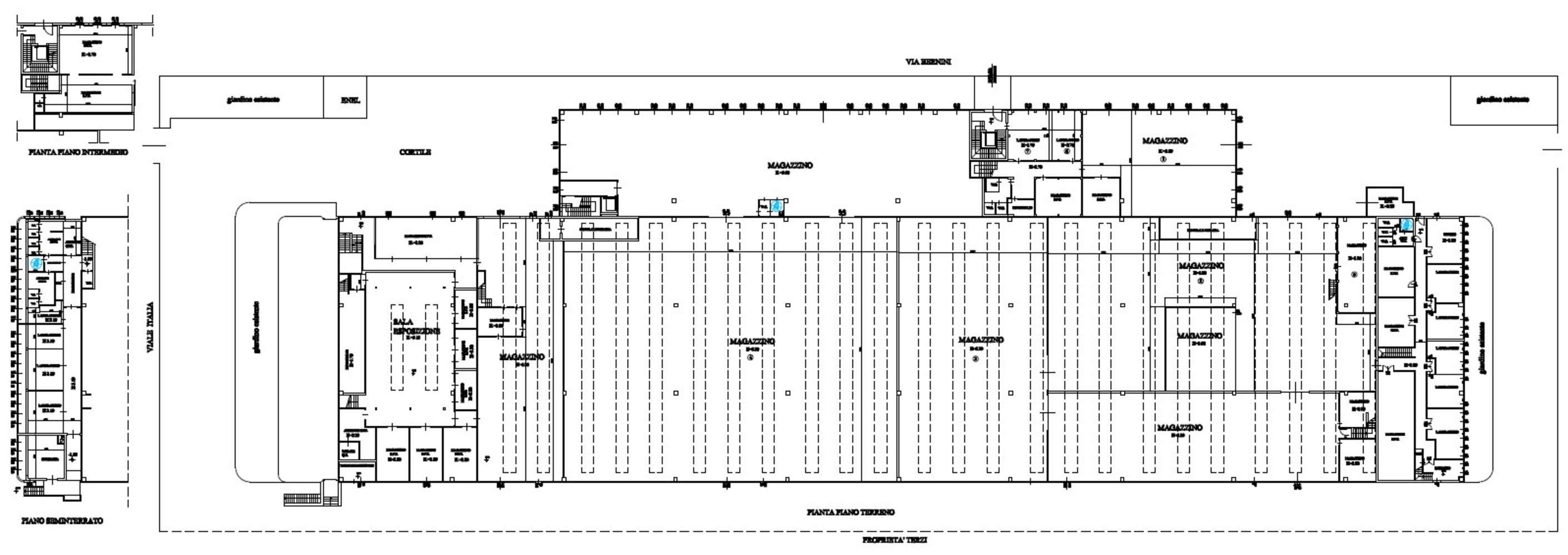 Magazzini industriali e logistici Lainate, 21040 - Lainate - Viale Italia - 9810027