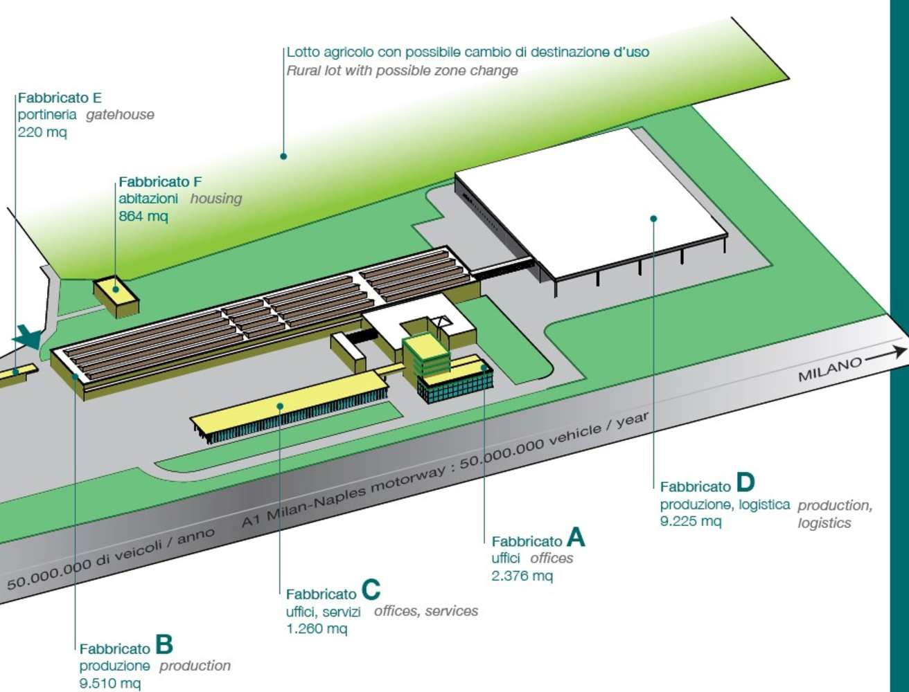 Magazzini industriali e logistici Crespellano, 40056 - Crespellano - 9845438