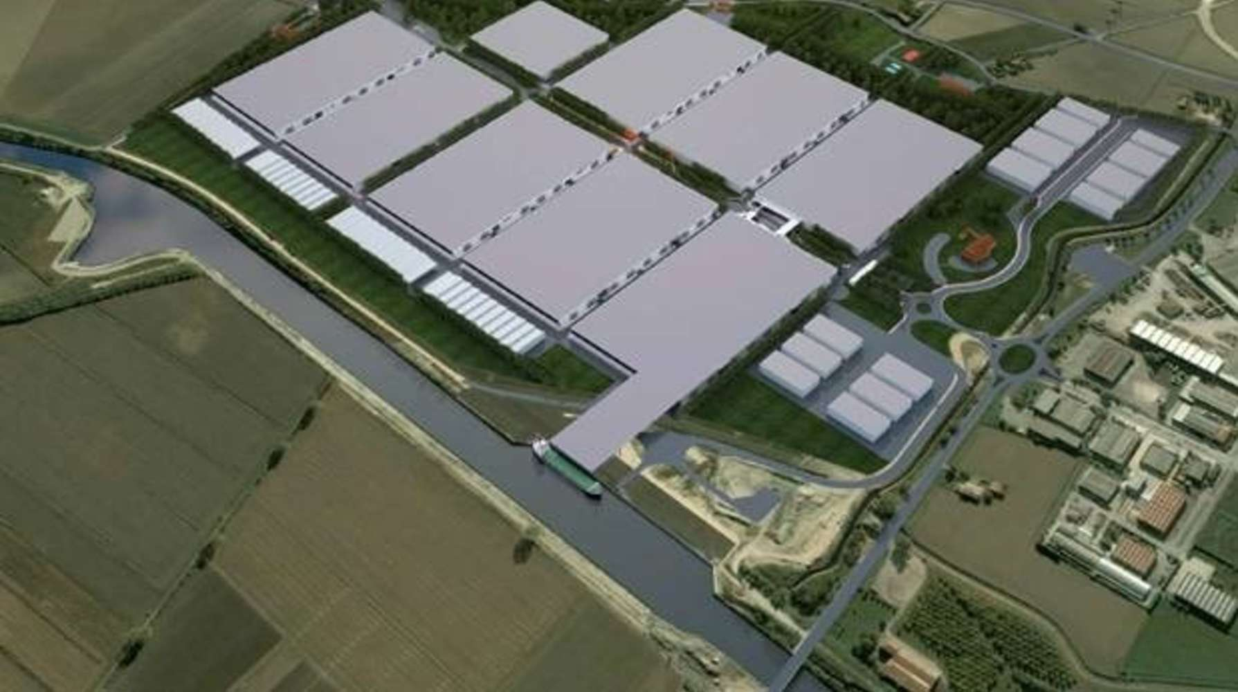 Magazzini industriali e logistici Porto mantovano mn, 46047 - Mantova Ostiglia