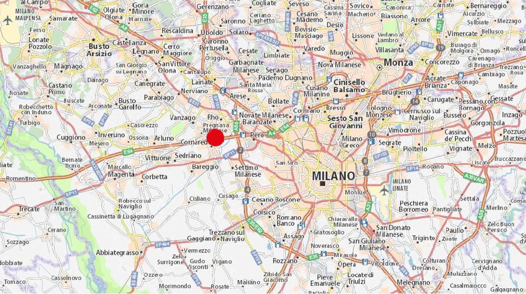 Magazzini industriali e logistici Pregnana milanese, 20010 - Pregnana - 9861458