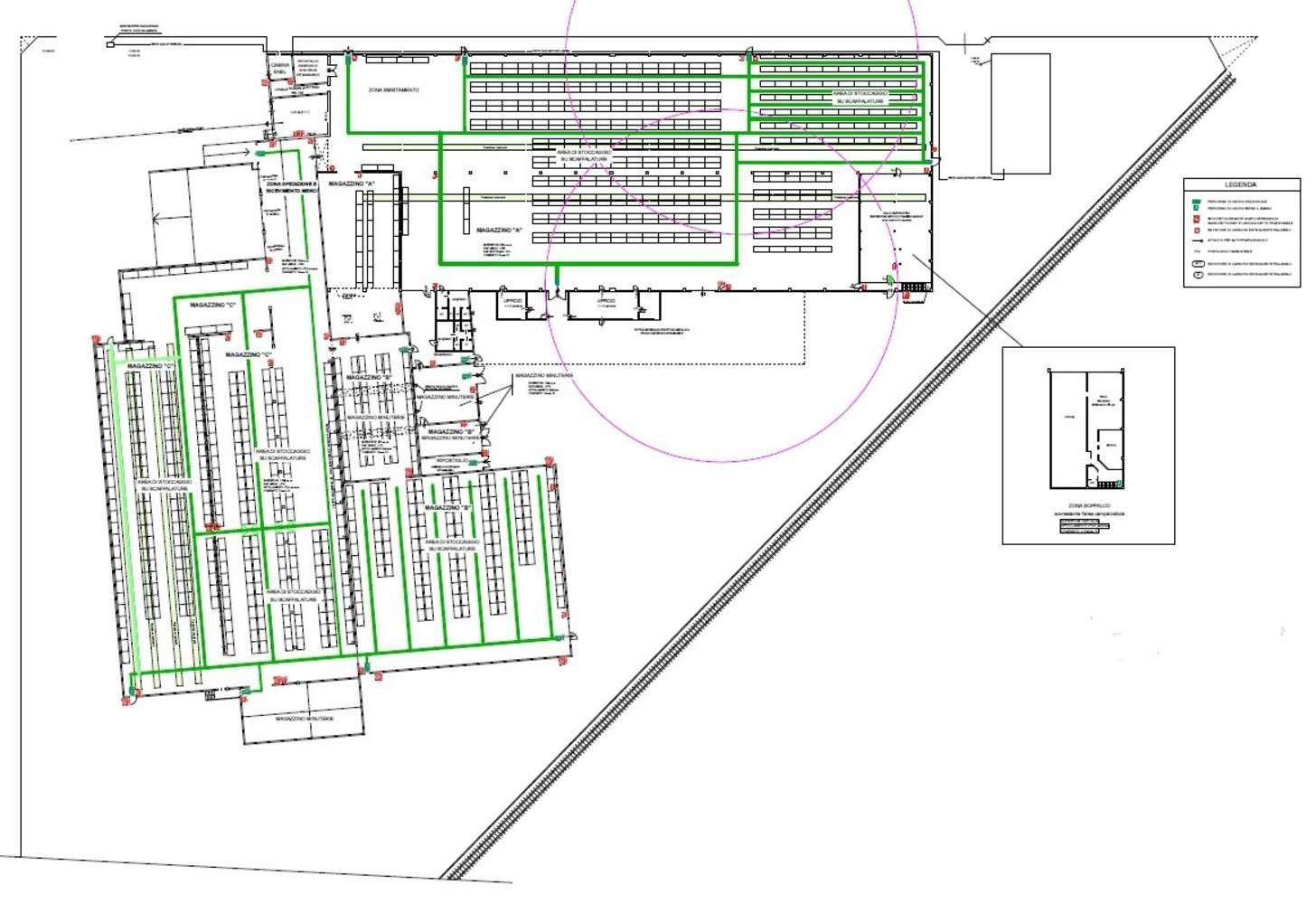 Magazzini industriali e logistici Caronno pertusella, 21042 - Caronno Via Fermi - 10008344