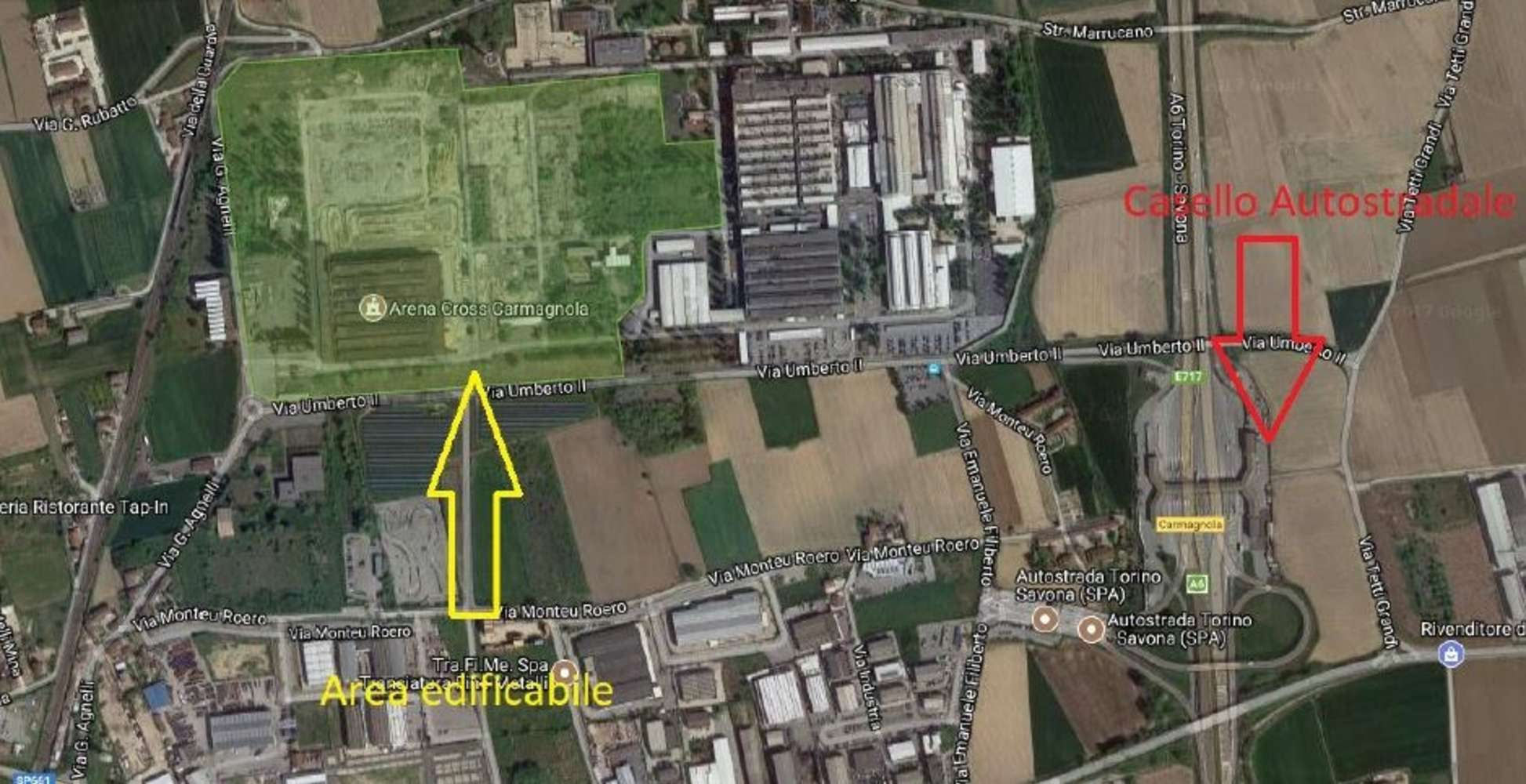 Magazzini industriali e logistici Carmagnola, 10022 - Carmagnola - 10018336