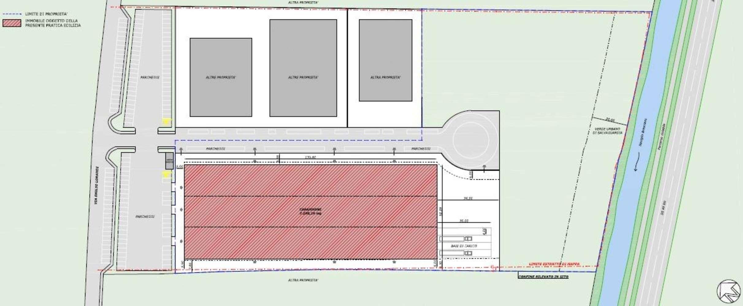 Magazzini industriali e logistici Nuvolera, 25080 - Area Nuvolera - 10389538