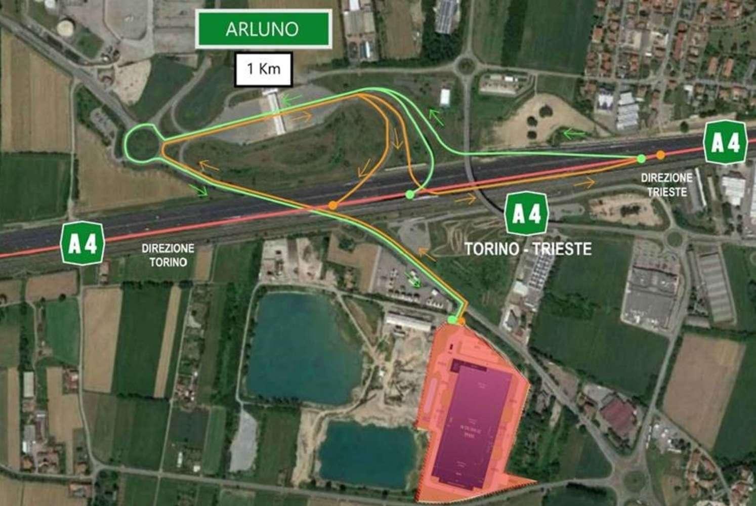 Magazzini industriali e logistici Arluno, 20010 - Arluno - 10389549