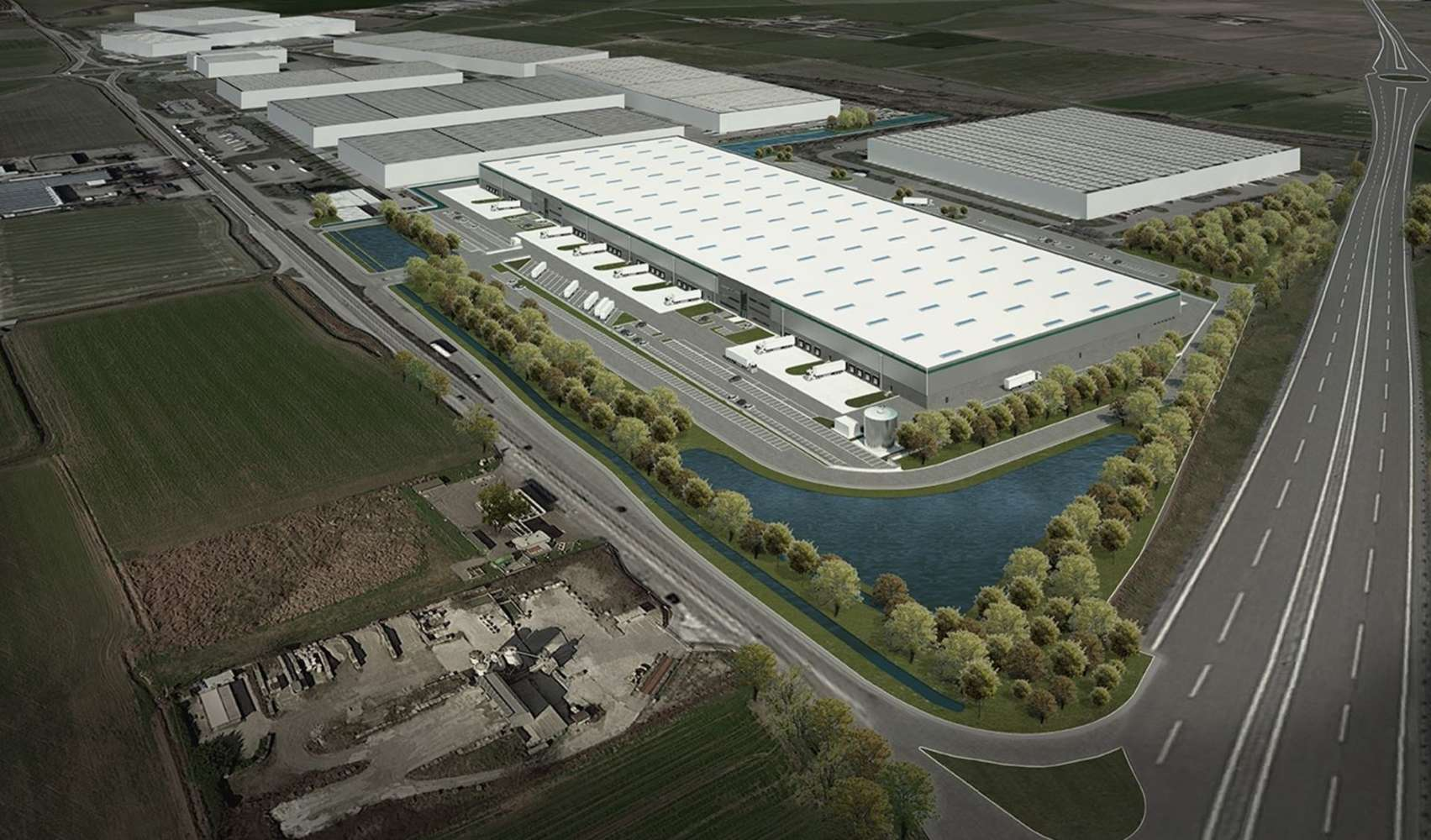 Magazzini industriali e logistici Casalpusterlengo, 26841 - Area logistica Lodi - 10878319