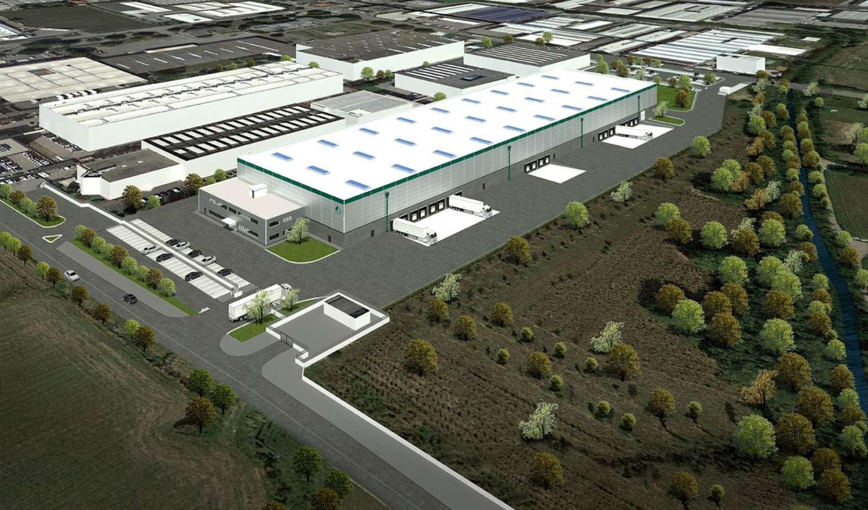 Magazzini industriali e logistici Lainate, 20020 - Area Logistica Lainate - 10878328