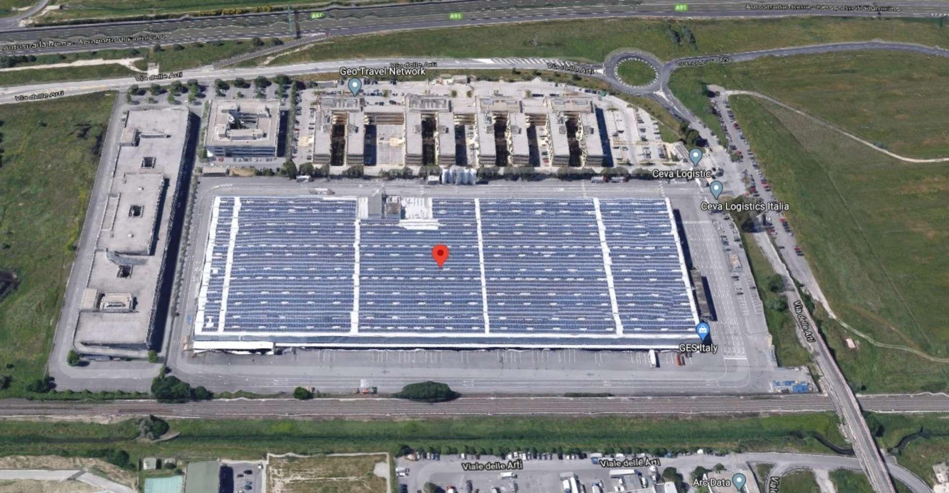 Magazzini industriali e logistici Fiumicino, 00054 - Fiumicino magazzino logistico
