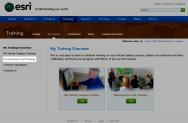 Esri My Instructor-Led Training