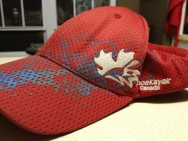 The hat Ally gave me at Olympic Trials