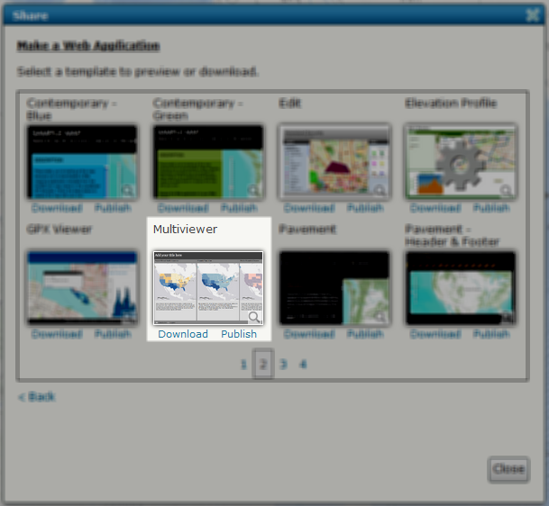 Multiviewer Select