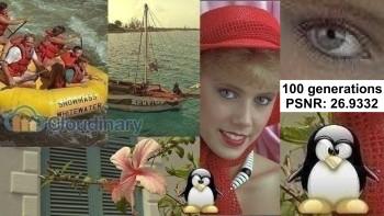 After 100 JPEG encodings