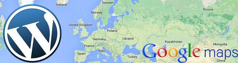 Google mapa ve WordPress