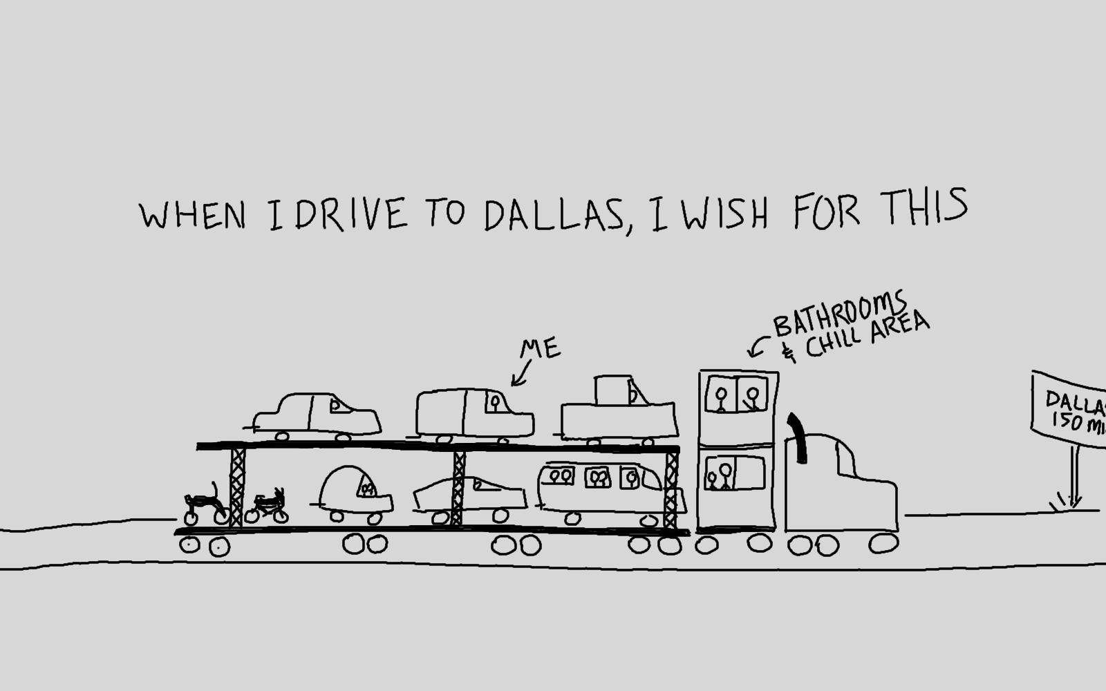 Cars really emphasize my inability to draw.