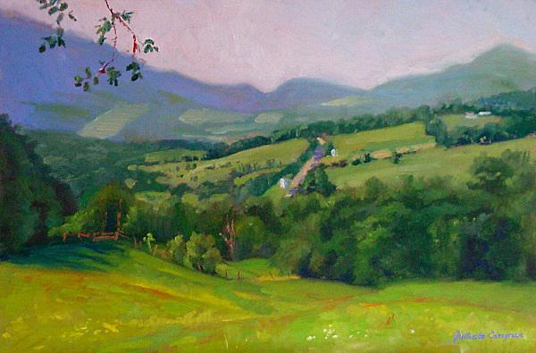 Brownsville Valley, VT. 12 x 18