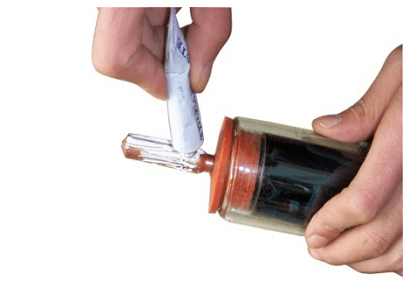 use Thermal Grease on Condensing head of heat pipe