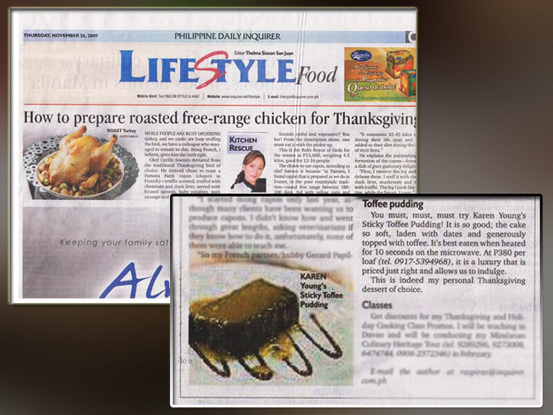 The Philippine Daily Inquirer (Nov 2009)