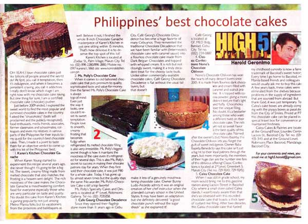 Manila Standard Today (Feb 2010)
