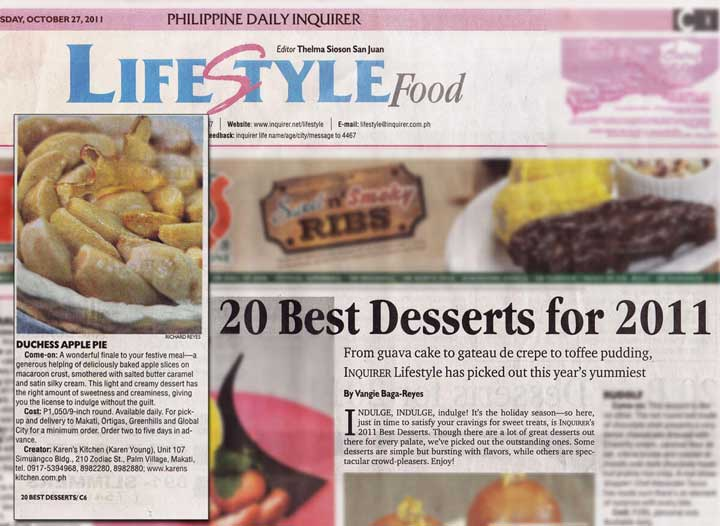 The Philippine Daily Inquirer (Oct. 10, '11)