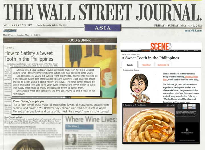 The Wall Street Journal (May 4-6, '12)