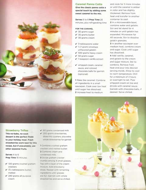 Yummy Magazine Strawberry Trifles