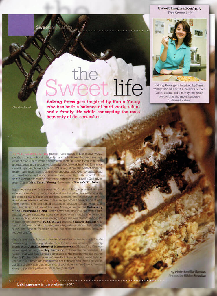 Baking Press (Jan – Feb 2007)