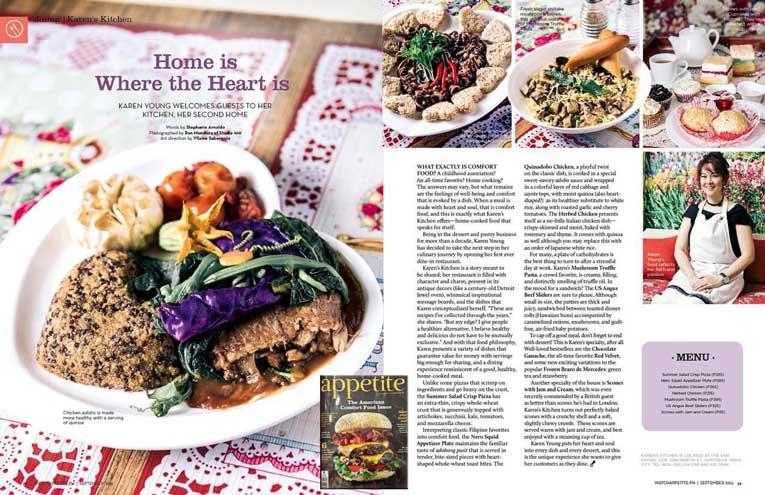 Appetite Magazine (Sep '2015)