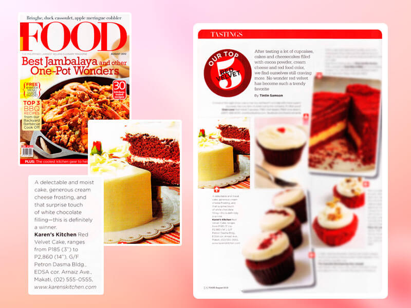 Food Magazine (Aug 2012)