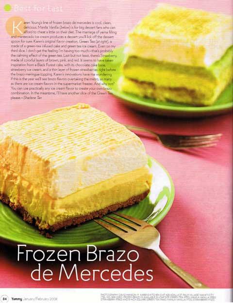 Yummy Magazine (Jan 2008)