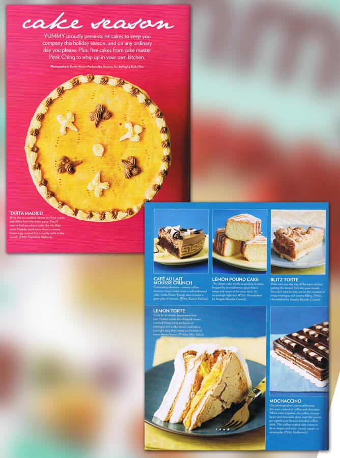 Yummy Magazine (Nov 2008)