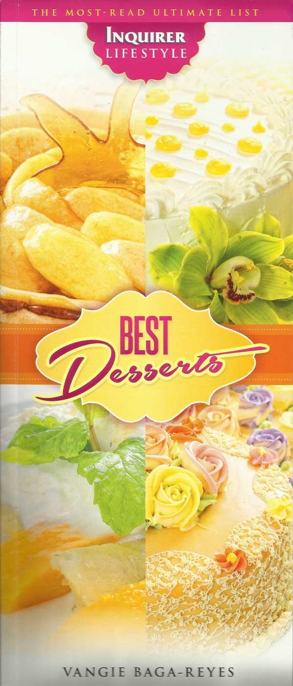 Best Desserts by: Vangie Baga Reyes