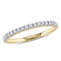 1/5 CT Diamond TW Eternity Ring 10KY