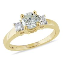 14KY .90ct TDW Engagement Ring