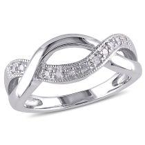 Concerto Diamond TW Fashion Ring Silver