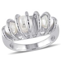 Julianna B Cultured Freshwater Pearl Ring in Sterling Silver