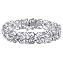 1 7/8 CT Diamond TW Bracelet 14KW