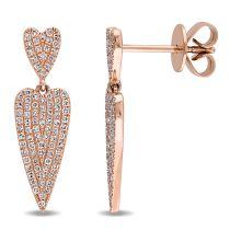 Diamond Fashion Earrings 14KP