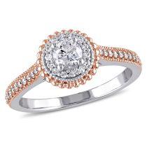 1/2 CT Diamond Fashion Ring 10KM