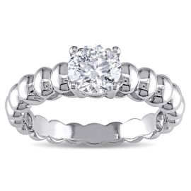7/8 CT Diamond TW Engagement Ring 14KW