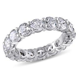 4 CT Diamond TW Eternity Ring 18KW Size: 5