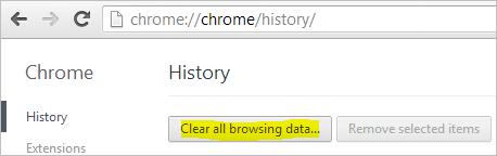 Chrome-Settings-History